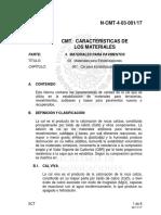 N-cmt-4.03.001-17 Cal Para Estabilización de Materiales Para Terracerías