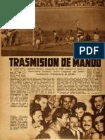 Crónica de Católica campeón en 1949