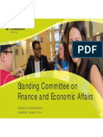 Standing Committee on Finance Economic Affairs Presentation - Jan 15.18... (1)