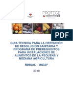Manual Salud Indap 2010