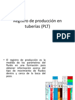 Registro de Producción en Tuberías (PLT)