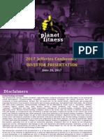 PLNT 2017 investor presentation