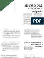 Abortar en Chile, La Otra Cara de La Desigualdad