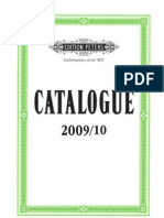 Catalogue 2009 10 Edition Peters