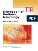 Handbook of Pediatric Neurology 2013