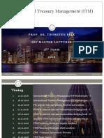 IBF Master International Treasury Management Lecture 1 & 2
