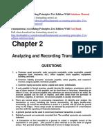 Fundamental Accounting Principles 21st Edition Wild Solutions Manual