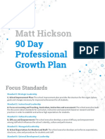 hickson first 90 days and reflection