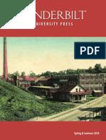Vanderbilt University Press Spring/Summer 2018 Catalog