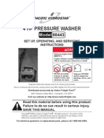 Harbor Freight 4hp 200psi Power Washer