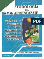 Metodologia Del Aprendizaje- CURSILLO DE INGRESO FCE-UNA