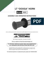 """Harbor Freight """"Oooga"""" horn 96291"""