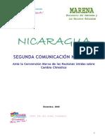 Segunda Comunicacion Nacional de CC, Naciones Unidas