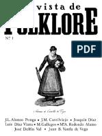 Revista de Folklore 1