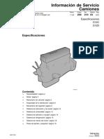 200 210 03 - ESP12705 Especificaciones D12D