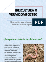 Lombricultura o Vermicomposteo