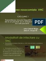 VHC Transmitere Nosocomiala