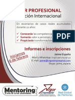 Certificación Internacional Mentoring