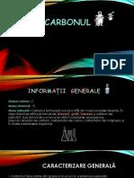 carbonul ppt