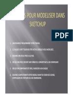 _Six Règles Pour Modéliser Dans SketchUp Par Joseph P. Zeh