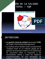 Gestion de La Calidad Total - Tqm