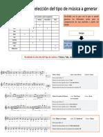 Analisis Tipos de Canciones