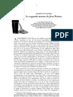 Freddy Gomez – La segunda muerte de José Peirats (2010)