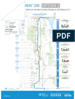 Delridge Way / RapidRide H Line Option 3