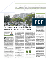 Inversion Inmobiliaria Apuesta a Largo Plazo
