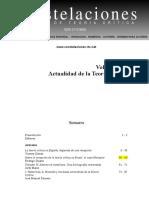 Revista Constelaciones 2009