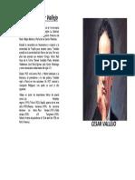 Biografía Cesar Vallejo