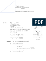 Final Exam W07-Soutions