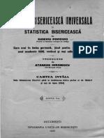 Eusebiu Popovici - Istoria Bisericească Universală, Vol. I