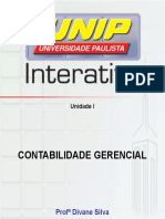 Contabilidade Gerencial - Slide 1