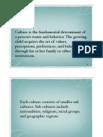 Cultural Factors in Advertising