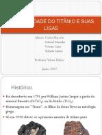 Titânio - apresentação
