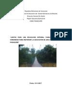 Organizacion Del Portafolio 1