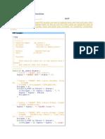 Insert Update Delete Function