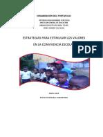 Organización Del Portafolio Soledad 1