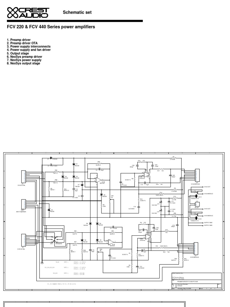 Admirable Fcv220Fcv440 Schematic Set1 Wiring Cloud Hisonuggs Outletorg