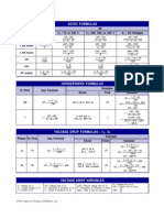 Electrical Formulas 2