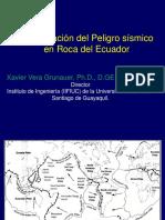 Actualizacion Del Peligro Simico en Ecuador