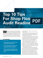 Top 10 Tips for Shop Floor Audit Readiness
