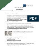 Cytosquelette QCM  ED1 UAG-2014-2015 Sans Corrections
