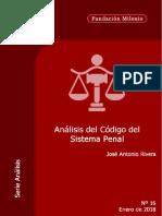 Rivera, Jose Antonio - Analisis Del Codigo de Sistema Penal (Nº16)