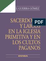 GUERRA, Manuel, Sacerdotes y laicos en la Iglesia primitiva y en los cultos paganos. Eunsa, 2002.pdf