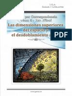 05 Las Dimensiones Superiores y El Desdoblamiento Astral