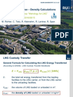 LNG Density Calculations (2016 by RUB)