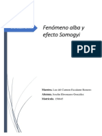 Fenómeno Alba y Efecto Somogyi