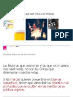 Storytelling Relatos Que Dan Vida a Las Marcas TNS
